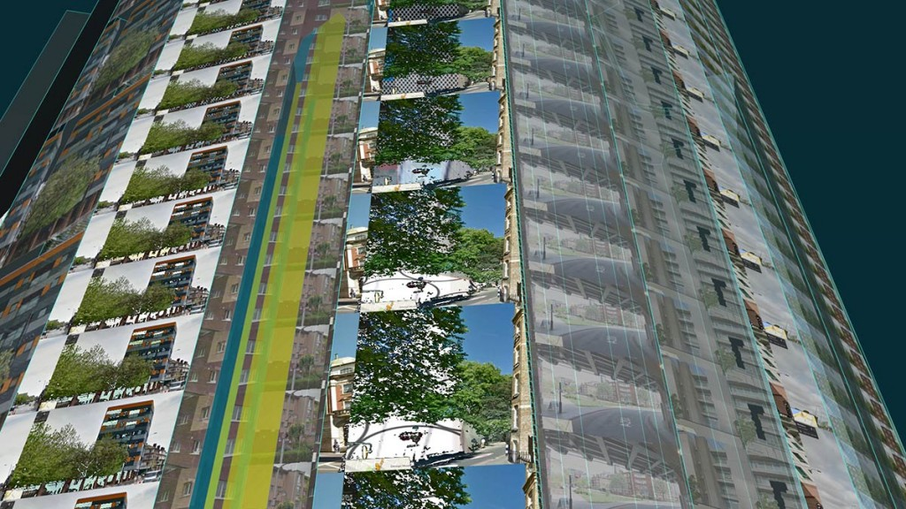 Sandra Crisp: remote city (skygardens_towers) Video still 6