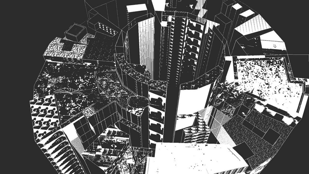 Sandra Crisp: remote city (skygardens_towers) Video still 7